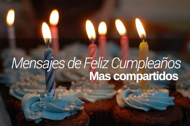 Feliz Cumpleaños Más Compartidos