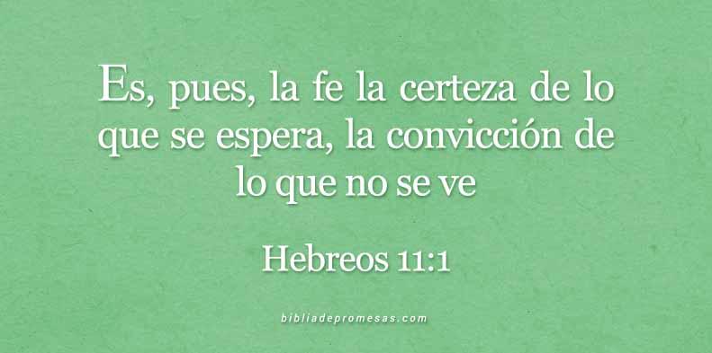 HEBREOS-11-1